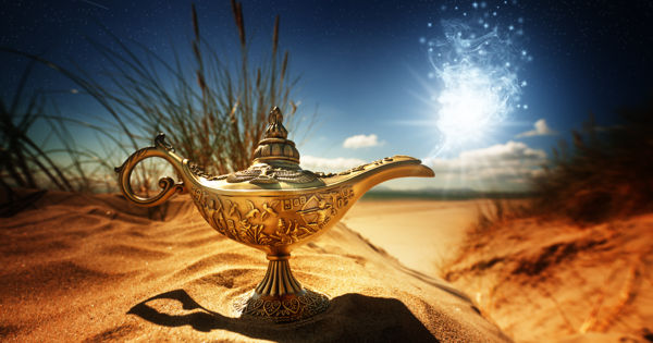 Cum sa-i freci lampa lui Aladin sa-ti indeplineasca dorintele!